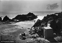 Rhosneigr, The Lion Rock 1936