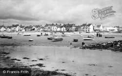 Rhosneigr, The Sands At Low Tide c.1960