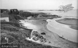 Rhosneigr, View From Bay Hotel c.1936
