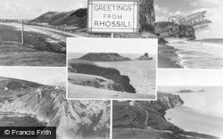 Rhossili, Composite c.1955