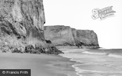 Rhossili, Fall Bay c.1955