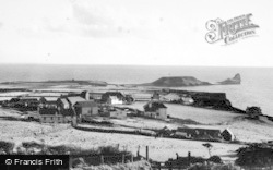 Rhossili, General View c.1955