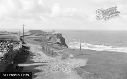 Rhossili, Road To The Point 1964