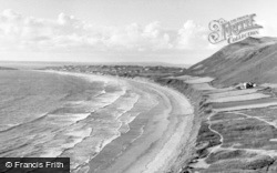 Rhossili, The Bay c.1955