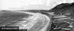 The Bay c.1955, Rhossili
