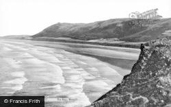 Rhossili, The Bay c.1955