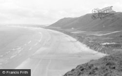 Rhossili, The Beach 1968