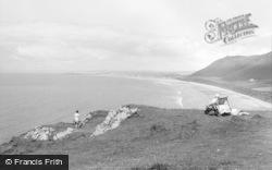 Rhossili, The Beach 1968