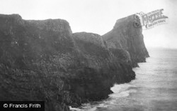 Rhossili, Worms Head 1901