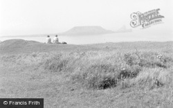Rhossili, Worms Head 1958