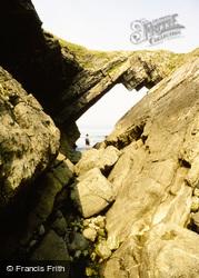 Worms Head, Devil's Bridge c.1990, Rhossili