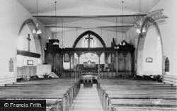 Rhosymedre, St John The Evangelist's Church c.1955
