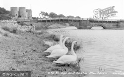 Rhuddlan, Bridge And Castle c.1965
