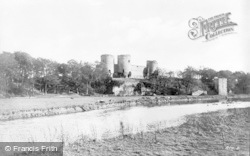 Rhuddlan, Castle From South c.1935