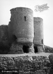 Rhuddlan, Castle, The West Gatehouse 1952