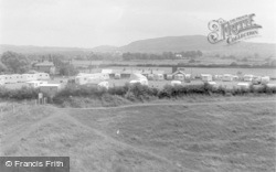 Rhuddlan, Pleasant View Camp From Bonc Hill 1953