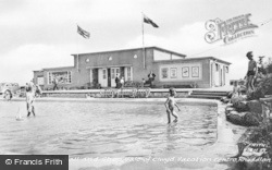 Rhuddlan, Recreation Hall And Shop, Vale Of Clwyd Vacation Centre c.1955