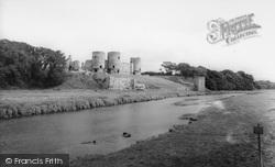 River And Castle c.1965, Rhuddlan
