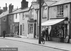 Shops In The High Street c.1955, Rhuddlan