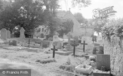 Rhuddlan, St Mary's Church 1952