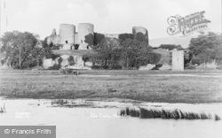 Rhuddlan, The Castle c.1935