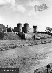 The Castle c.1955, Rhuddlan