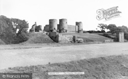 Rhuddlan, The Castle c.1965