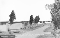 Rhuddlan, The Chalets, Sun Valley Holiday Camp c.1965