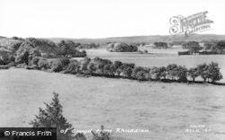 Rhuddlan, Vale Of Clwyd c.1965