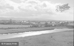View From The Castle 1952, Rhuddlan