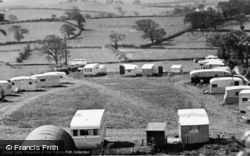 Rhyd-Y-Foel, View From Tan Rallt Caravan Site c.1955