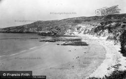 Rhydwyn, Church Bay, Beach And Point c.1955