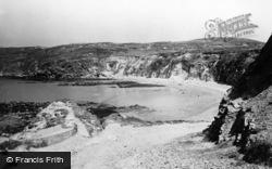 Rhydwyn, Church Bay Beach c.1955