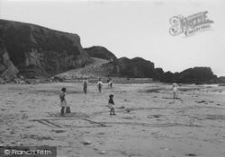 Rhydwyn, The Beach, Church Bay 1936