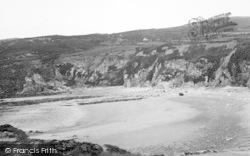 Rhydwyn, The Cliffs, Church Bay c.1936