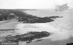 Rhydwyn, The Coast From The Headland c.1936