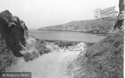 Rhydwyn, The Path To Church Bay c.1955