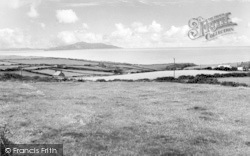 Rhydwyn, View From The Old Mill c.1960