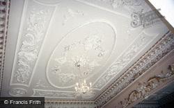 Nanteos House, Music Room Ceiling 1985, Rhydyfelin