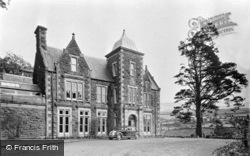 Rhydymain, Hengwrt Hall Hotel c.1955