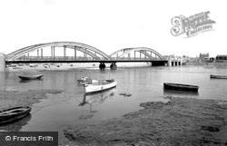 Foryd Bridge c.1955, Rhyl