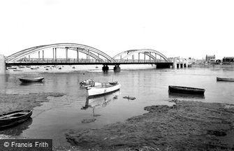 Rhyl, Foryd Bridge c1955