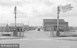 Rhyl, Lyons Holiday Camp Entrance 1952