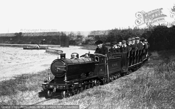 Rhyl, Miniature Railway, Marine Lake c.1920