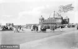 Rhyl, Pavilion And Promenade c.1930