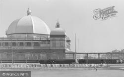 Rhyl, Pavilion From Paddling Pool c.1948