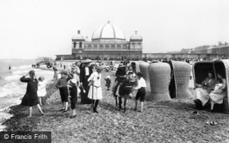 Rhyl, the Beach and the Pier 1913