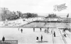 Rhyl, West Promenade c.1930