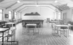Rhyl, Ymca Glan Morfa, Recreation Hall 1952