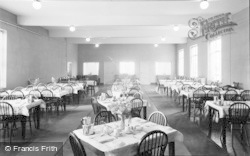 Rhyl, Ymca Glan Morfa, The Dining Room 1952